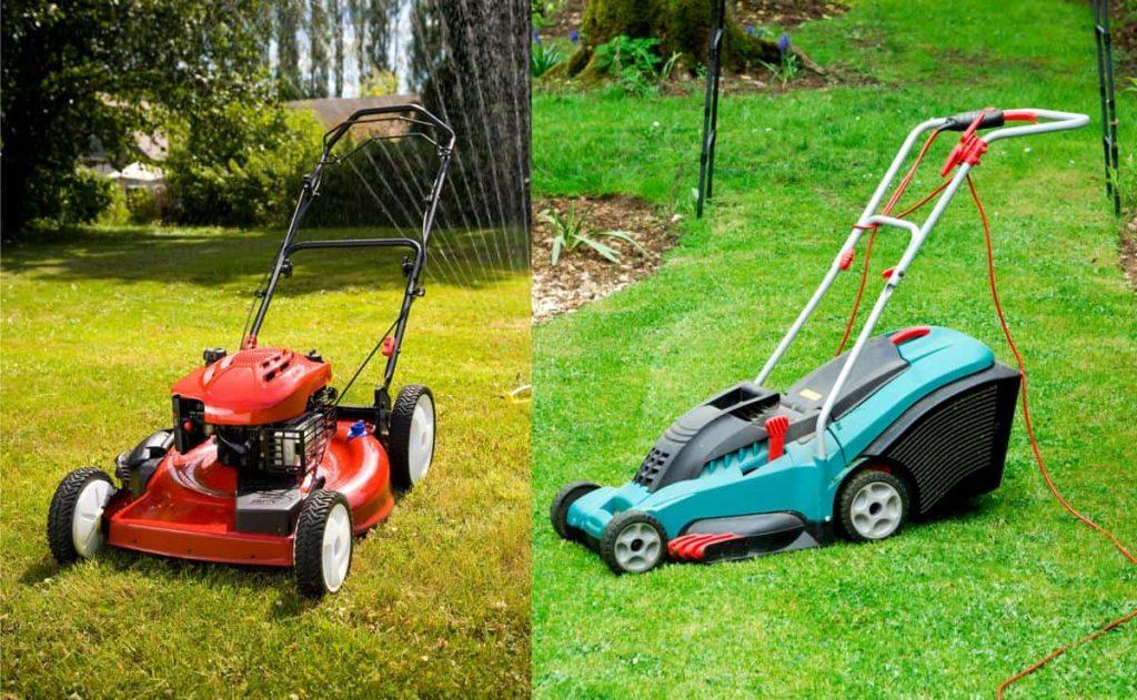 petrol-vs-electric-lawn-mower